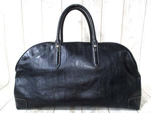 アニアリ aniary バッグ ボストン レザー アイディアル アンティークレザー 絞り加工 黒 ブラック メンズ