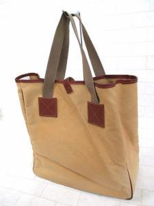 【Barbour/バブアー】 名品◆ロゴ刻印 キャンバス トートバッグ/ショルダーバッグ/ベージュ×ブラウン/カバン鞄かばんK-1780の買取実績