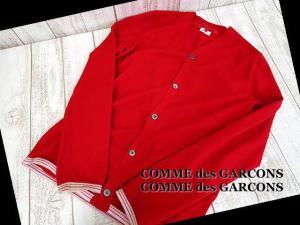 コムデギャルソンコムデギャルソン COMME des GARCONS COMME des GARCONS AD2011 長袖 ニット カーディガン M 赤 レッドの買取実績