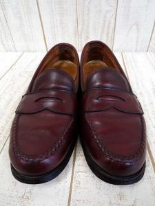 オールデン ALDEN ローファー カーフ 6.5 C 茶色 ブラウン コインローファー くつ 靴 シューズ 永久 定番 小さいサイズの買取実績