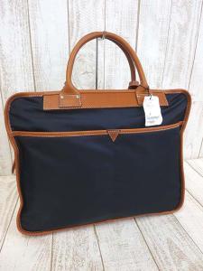 未使用品 フェリージ Felisi バッグ ブリーフケース ビジネスバッグ 8637 紺 ブラウン ナイロン レザー かばん 鞄 カバン メンズの買取実績