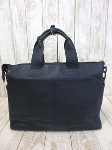 バーバリーブラックレーベル BURBERRY BLACK LABEL バッグ ブリーフケース ビジネスバッグ 2WAY オール レザー 紺 ネイビー 本革 かばん 鞄 カバン メンズの買取実績