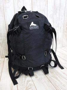 グレゴリー GREGORY リュック バックパック チェック柄 ロゴ 黒 ブラック 白 かばん 鞄 カバン大きいサイズ メンズの買取実績