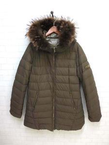 タトラス TATRAS ダウン コート ジャケット リバーシブル ブリーダ XL サイズ 05 モカ カーキ BRIDA ポーランド ラクーン ファー フード 国内正規品 大きいサイズ レディースの買取実績