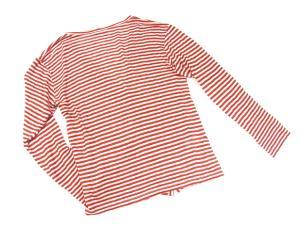 【BARENA/バレナ】 イタリア ヴェネチア ブランド ボーダー 長袖ロングカーディガン ニット セーター アイボリー オレンジ リネン Sの買取実績