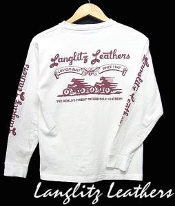 ラングリッツレザー Langlitz Leathers カットソー