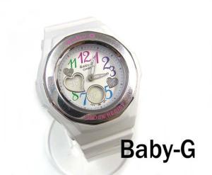 ベビージー Baby-G カシオ CASIO 腕時計 ウォッチ クォーツ ジェミーダイアル マルチ 白 服飾