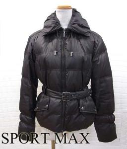 スポーツマックス マックスマーラ SPORT MAX ダウンコート ダウンジャケット アウター ベルト 茶 ブラウン 36 冬 衣料の買取実績