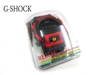 ジーショック G-SHOCK 腕時計 クォーツ ウォッチ レゲェバージョン DW-003R-4T 赤 グレー 服飾