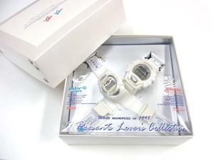 ジーショック G-SHOCK 腕時計 クォーツ ラバーズコレクション ペアウォッチ ドラゴンと魔女 LOV98B-3 ホワイト 服飾