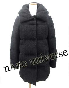 ナノユニバース nano universe ダウンコートの買取実績