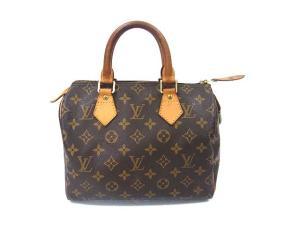 ルイヴィトン LOUIS VUITTON モノグラム スピーディ25 ボストンバッグ ハンドバッグ かばん 鞄 M41528 ブラウン