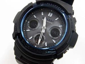 ジーショック G-SHOCK カシオ CASIO 腕時計 電波 ソーラー AWG-M100A ラバーベルト ブルー ブラックの買取実績