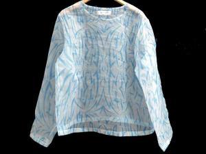 【phenomenon/フェノメノン】シースルー カットソー シャツ 長袖 プルオーバー ブルー S12386の買取実績