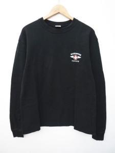 キャリー CALEE HIGH CHOPPER プリント Tシャツ カットソー 長袖 ロンT クルーネック L 黒 ブラック S42404の買取実績