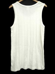 キャリー CALEE タンクトップ ノースリーブ カットソー 胸刺繍 L 白 ホワイト T46076の買取実績