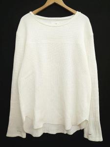 アーバンリサーチサニーレーベル URBAN RESEARCH Sonny Label Tシャツ 長袖 サーマル ワッフル カットソー ロング 無地 シンプル L 白 ホワイト S47893の買取実績