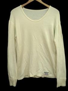 ワコマリア WACKO MARIA Tシャツ 長袖 サーマル バックプリント SHAKEALADY ロンT カットソー M 白 ホワイト コットン Uネック Y48951の買取実績
