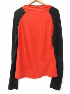 アングロマニア ANGLOMANIA ヴィヴィアン カットソー Tシャツ 長袖 ラグラン バイカラー L 赤×黒 S52184の買取実績