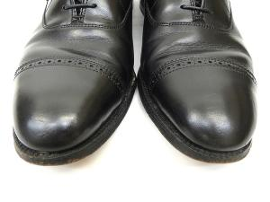 オールデン ALDEN 901 ストレートチップ パンチドキャップトゥ ビジネス ドレス シューズ ブラックカーフ 9 27cm 黒 T52811の買取実績