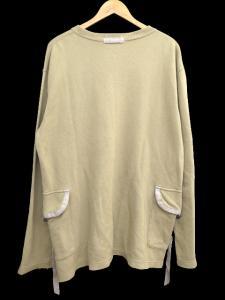 アヴィレックス AVIREX Tシャツ 長袖 ポケット ルーズサイズ プリント 丸首 無地 コットン M ベージュ C55756 メンズの買取実績
