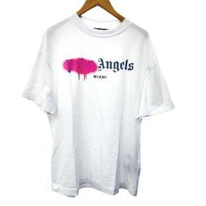 パームエンジェルス PALM ANGELS 20AW MIAMI SPRAYED LOGO TEE ロゴ オーバーサイズTシャツの買取実績