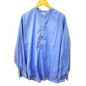 グラフペーパー Graphpaper 19AW Broad Band Collar Shirt バンドカラーシャツの買取実績