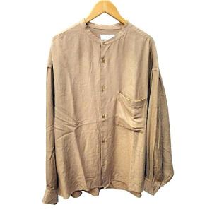 グラフペーパー Graphpaper 20SS Viscose Band Collar Big Shirt バンドカラーシャツの買取実績