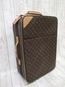 ルイヴィトン LOUIS VUITTON モノグラム キャリーバッグ M23294 ぺガス55 スーツケース 旅行かばん A8685 キャスター付き