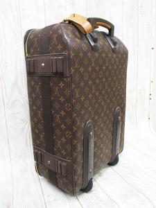 ルイヴィトン LOUIS VUITTON モノグラム キャリーバッグ M23294 ぺガス55 スーツケース 旅行かばん A8685 キャスター付きの買取実績