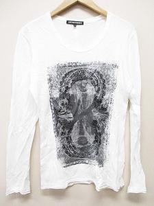 5351プールオム 5351 POUR LES HOMMES Tシャツ カットソー 白 2 長袖 B5853