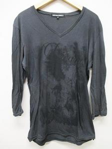 5351プールオム 5351 POUR LES HOMMES Tシャツ カットソー Vネック モカ 2 七分袖 B5894
