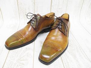 ベルルッティ Berluti ビジネスシューズ 革靴 7 1/2 26cm 茶 ブラウン 紳士靴 A9098の買取実績
