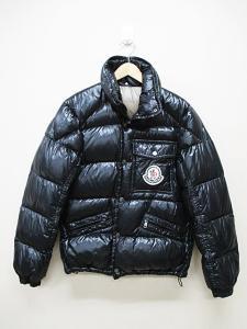 モンクレール MONCLER ダウンジャケット 1 黒 国内正規品 ブラック A9149 ジャンパー ブルゾン