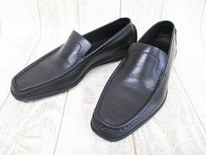 未使用品 グッチ GUCCI スリッポン ドライビングシューズ 黒 37 23.5cm レザー ブラック イタリア製 婦人靴 A9403