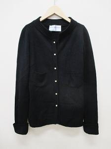 アンナモリナーリ ANNA MOLINARI カーディガン ニット セーター I42 黒 ウール 秋冬 D0048の買取実績