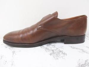 ロイド フットウェア Lloyd Footwear ビジネスシューズ レザー モンクストラップ 茶 8の買取実績