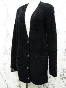 ベアフットドリームス BAREFOOT DREAMS フリースジャケット カーディガン XS 黒 ブラックの買取実績