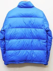 ビームス BEAMS ダウンジャケット ディズニーコラボ 中綿入り ワッペン付き 無地 M 青 ブルー メンズの買取実績