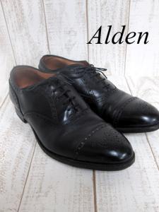 【ALDEN/オールデン】キャップトゥシューズ 909 USA製 革靴/ラウンドトゥ/US10ハーフ/28.5cm/メンズ