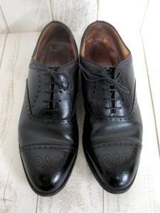 【ALDEN/オールデン】 メダリオン チップバル ビジネスシューズ/ウィングチップ/革靴/カーフスキン/ブラック/黒/10.5インチ/メンズの買取実績