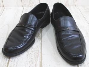 バリー BALLY ビジネス シューズ Uチップ ブラック 黒 レザー 革靴 紳士