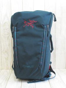 アークテリクス ARC'TERYX Miura 35 Backpack バックパック クライミング 全面 ファスナー オープン グリーン
