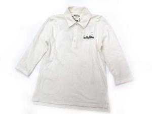 ワコマリア WACKO MARIA ポロシャツ 七分袖 刺繍 M 白 ※KKの買取実績