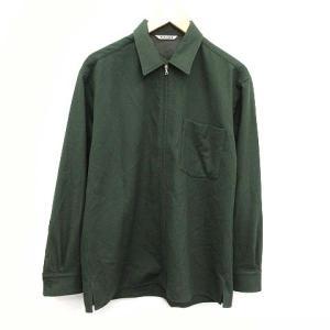 オーラリー AURALEE 19AW SUPER SOFT WOOL FLANNEL ZIP SHIRTS シャツの買取実績