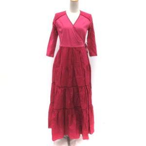 ボーダーズアットバルコニー BORDERS at BALCONY 19SS BALLERINA MAXI DRESS 36 ピンクの買取実績