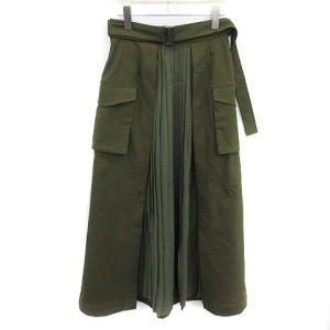 クラネ CLANE 18AW スカート ミリタリー プリーツ ドッキングの買取実績