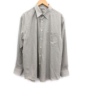 オーラリー AURALEE 20SS SUPER LIGHT WOOL CHECK SHIRTS シャツの買取実績