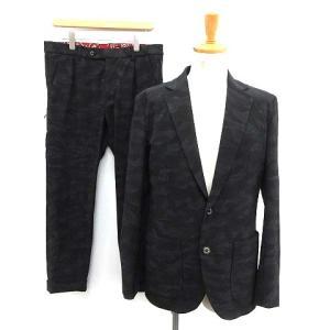 ウノピュウノウグァーレトレ 1PIU1UGUALE3 18SS スーツ トラベルジャケット パンツ 迷彩 カモフラ セットアップの買取実績