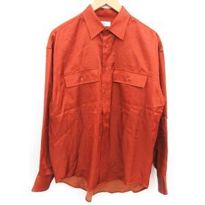 アレッジ ALLEGE 18AW rayon open collar shirt オープンカラーシャツ ブラウンの買取実績